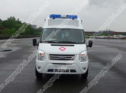 福特全顺V348长轴高顶救护车(02母婴转运)