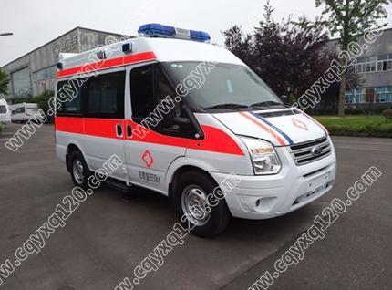 福特全顺V348短轴救护车(监护型)