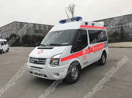福特全顺V348短轴救护车(急救型)