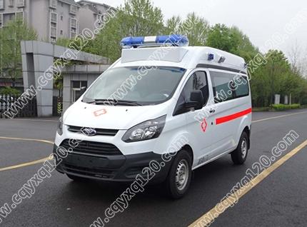 新全顺V362监护型救护车(柴油)