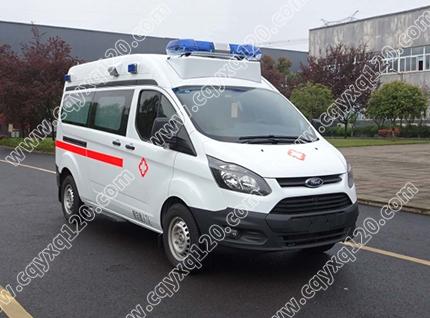 新全顺V362长轴急救型救护车