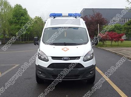 新全顺V362急救型救护车(汽油)