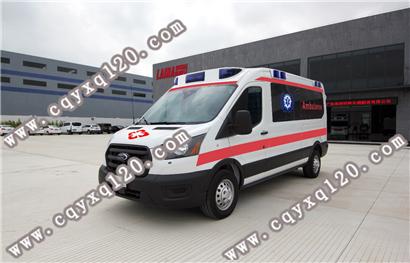 进口福特Transit四驱监护型救护车